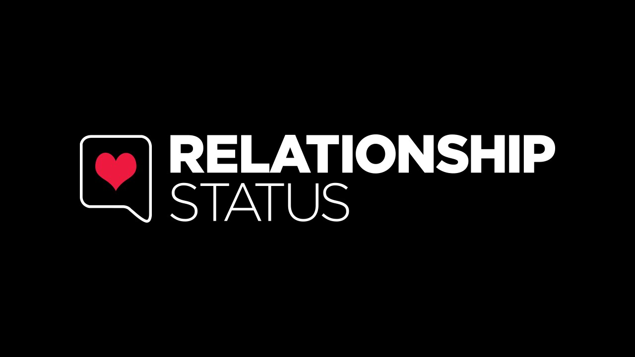 In a relationship status comes up as dating