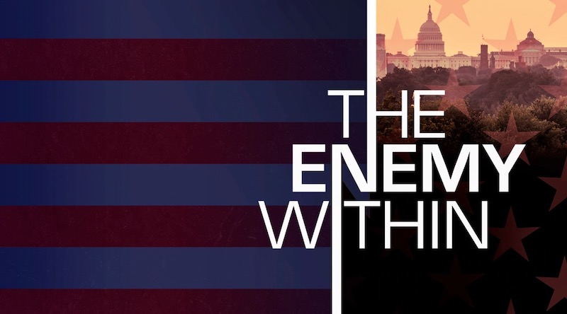Image result for enemy within series premiere
